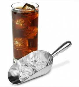 Metal Ice Scoop for UK Pubs and Bars